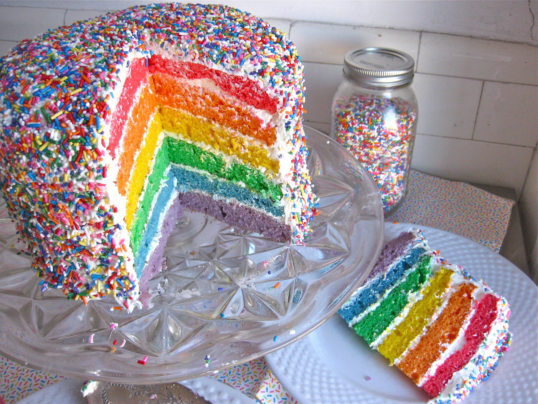 Rainbow Sprinkle Cake Mix