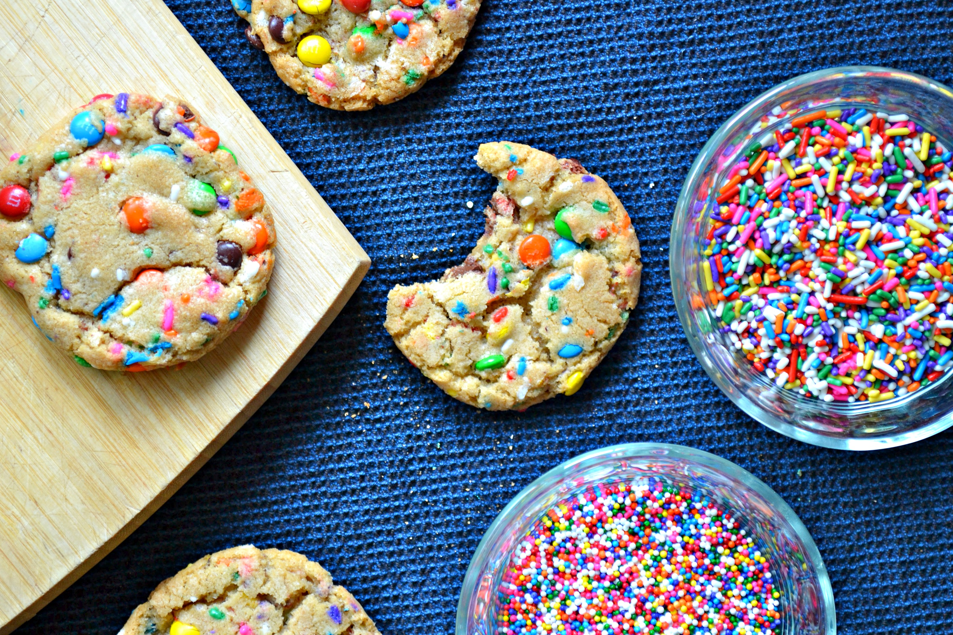 Birthday Confetti Cookies | The Sweet Life