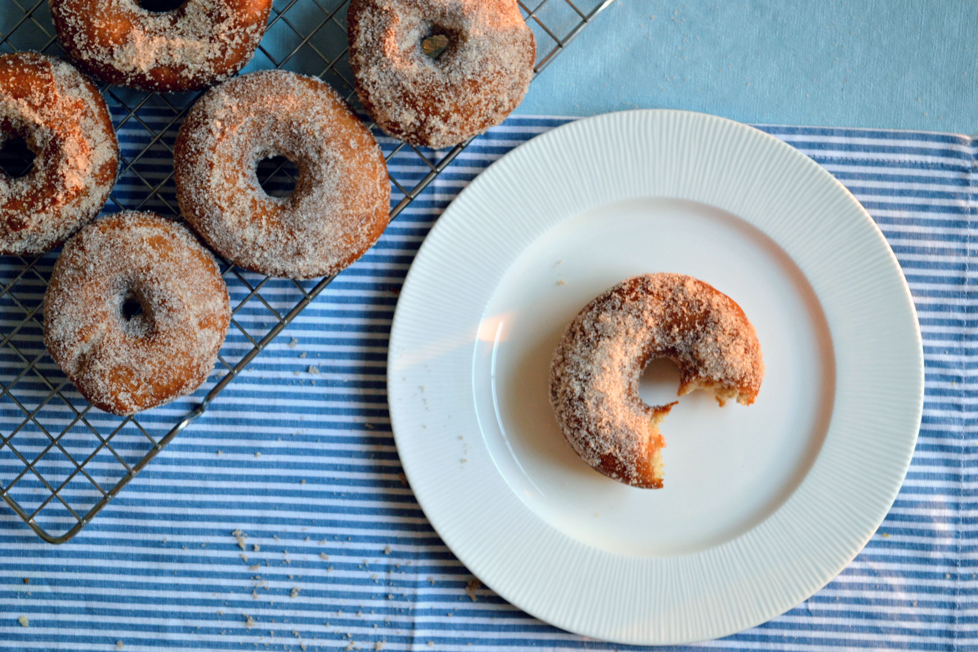 Apple Cider Doughnuts + a Giveaway! | The Sweet Life
